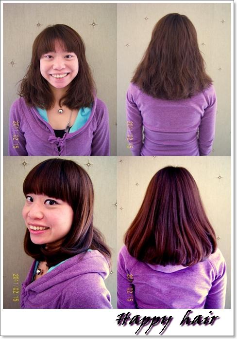 染发颜色大全黑紫色图片